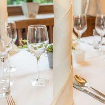 Tisch Ambiente im Restaurant Hainzinger